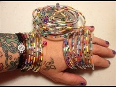 ▶ How To Make Jewelry From IV Tubing - YouTube