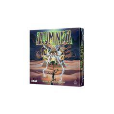 """Illuminati - Edición Revisada  El objetivo de este tenso pero divertido juego es conquistar el mundo, no con pistolas y misiles, sino con sigilosas artimañas. Cada jugador será uno de los Illuminati, los """"amos secretos"""" que se disputan el gobierno mundial."""