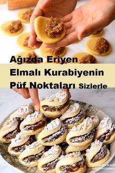 My Recipes, Cookie Recipes, Dessert Recipes, Desserts, Pasta Cake, Bread Dough Recipe, Most Delicious Recipe, Turkish Recipes, Cookies Et Biscuits