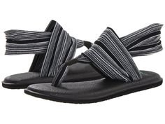 Sanuk Women's Yoga Sling 2 Flip-Flop *** Find out more details by clicking the image - Sanuk flip flops