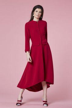 f5ad6c6c096f Claire Mischevani - Cherry drop hem coat dress Cherry Drops, Occasion Wear,  Coat Dress