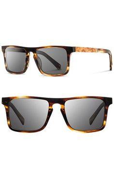 Shwood 'Govy' 52mm Polarized Wood Sunglasses   Nordstrom