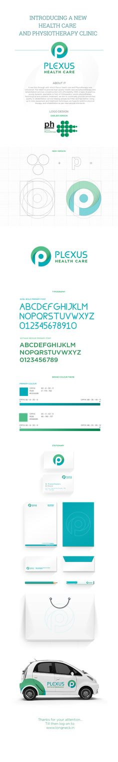 Plexus Health Care and Physiotherapy on Behance