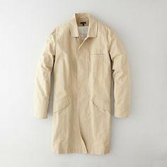 steven alan - painters trench coat:  cotton