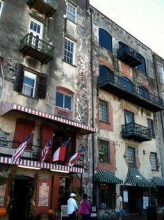 River Street Buildings