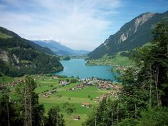 Interlaken Switzerland. One of the few places on earth that really looks like the postcards!