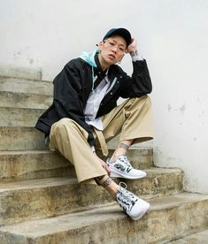 alsoisalso Pose Reference, Korean Actors, Hipster, Asian, Beautiful, Style, Swag, Hipsters, Hipster Outfits