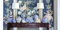 In a gorgeous summer home, decorative accents take an interior to a whole new level.