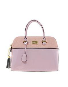 Pauls Boutique Maisy Suede Patent Bag - $115