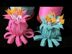 Needle Lace, Tatting, Make It Yourself, Embroidery, Crafts, Youtube, Small Flowers, Table Toppers, Art