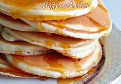 TORTITAS AMERICANAS O PANCAKES American Pancakes, Pastry Recipes, Chocolate, Dinner, Breakfast, Sweet, Easy, Food, Salads
