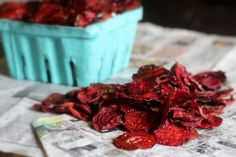 Crispy Rosemary & Garlic Beet Chips So Good That Even Beet Haters Will Love Them