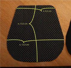 Nipsupussukan ohje, vaiheet selkeästi esitetty. Tästä saa helposti pikkulaukun kun ostaa nipsun (eli kukkaronkehyksen), jossa on hihnasilmukat.