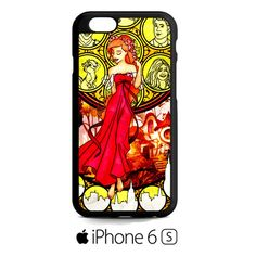 Giselle Stained Glass iPhone 6S  Case