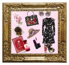 """""""Flowers"""" by lorena-lacatus on Polyvore featuring Valentino, FAUSTO PUGLISI, Dolce&Gabbana, Disney and MAC Cosmetics"""