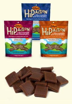 A Zuke's fan favorite, the Hip Action treats are made in the USA and are wheat, corn and soy free!