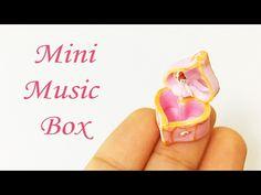 Miniature Music Box Tutorial Polymer Clay - YouTube