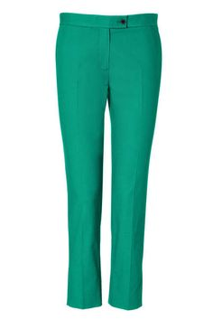 The Pant  Joseph Emerald Ankle Pants, $305; stylebop.com