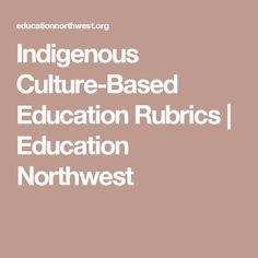 Indigenous Culture-Based Education Rubrics | Education Northwest