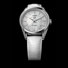 TAG Heuer Carrera with Diamond Case & Mother of Pearl Dial - Jewelers Trade Shop, Pensacola FL