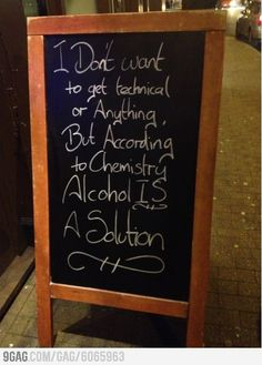Saw this outside a local pub today.