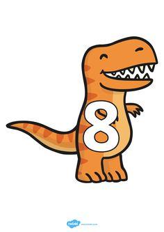 Cijferlijn: dino's Dinosaurs Preschool, Dinosaur Activities, Dinosaur Crafts, Math 2, Kindergarten Math, Abc Coloring Pages, Teacher Organization, Childhood Education, Children