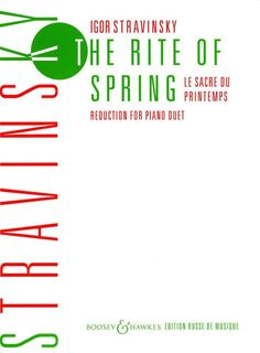 Buy Stravinsky: The Rite of Spring (Le Sacre du Printemps) (Piano Duet) at The Dukes Music online Music Store. The Rite Of Spring, Online Music Stores, Write To Me, Music Gifts, Choir, Writing A Book, Piano, Spring, Write A Book