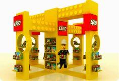 Stand Lego - Gropius Alejandro: Plv de Lego como las construcciones que se pueden hacer con sus juguetes.