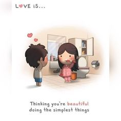 Love is ... (Sharing a cute pic that reminds you of your lady?)