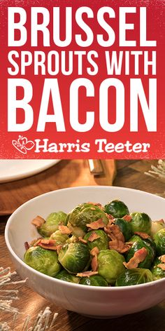 Everything's better with bacon, even Brussels sprouts. Try this recipe for the perfect side dish!