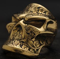 Engraved Stealth Starlingear ring. I wouldn't personally wear one but I really like the design!