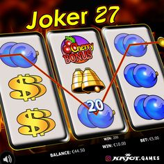 Make 27 your new lucky number! The ideal combination of three reels, which shine only for you in a completely new light, not only allows you a thrilling gaming experience, but - in connection with the bonus game account - unbelievable chances of winning. Lucky Number, Up And Running, Online Casino, Connection, Joker, Gaming, Videogames, Games, Game