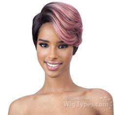 Freetress Equal Synthetic Hair Extreme Side Part Wig - CELIA [11302]