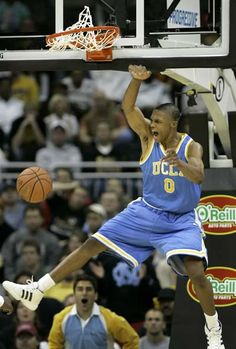UCLA Bruins (NCAA, 2008): Classic! Tyus in 4.8 sec across the floor for the two-point bucket win!