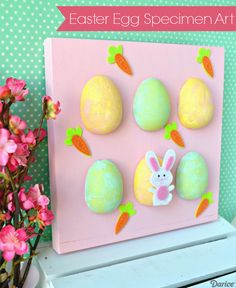 Easter Egg Specimen Art Decor