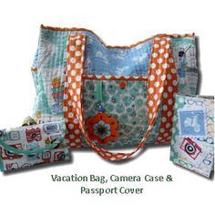 FREE Makower Vacation Bags Pattern