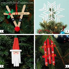 Popsicle stick ornament crafts are a time-honored tradition for kids! I know my mom and dad still have several that I made when I was little, and they have a spot on the tree even after all these years. Because even the simplest ornament can ...
