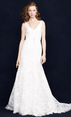 J. Crew Sarah Lace: buy this dress for a fraction of the salon price on PreOwnedWeddingDresses.com