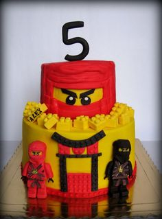 Ninjago cake Lego Ninjago Cake, Ninjago Party, Lego Cake, Superhero Cake, Ninja Birthday Cake, Ninja Birthday Parties, Birthday Fun, Birthday Cakes, Power Ranger Cake