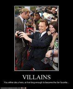Love that, Loki!