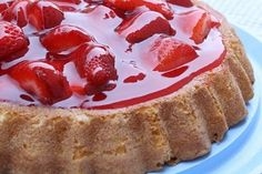 """This Strawberry Cake recipe is baked in the """"TIARA"""" pans from many years ago when Duncan Hines had desserts for these free pans that they gave out. Many times I have seen these pans at Goodwill stores."""
