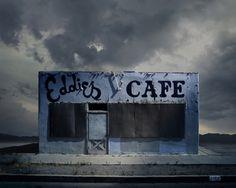 Ed Freeman - Eddie's Cafe, Santa Clarita, California - Galerie Sakura