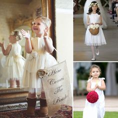 Flower Girl Props and Baskets