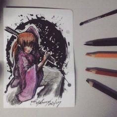 Kenshin /By Celson Kisler - Kisler Art Stock