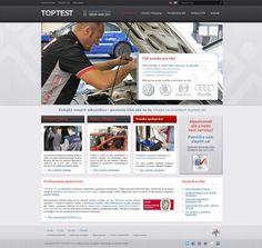 Webdizajn pre spoločnosť Toptest s.r.o. poskytujúcu phantom testing a mystery shopping v oblasti automobilového priemyslu. Web Design, Audi, Baseball Cards, Storage, Purse Storage, Design Web, Larger, Website Designs, Site Design