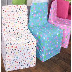Exceptionnel Kids Chair Covers   Polka Dot For R30.00 Www.bidorbuy.co.