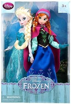 Disney Frozen Exclusive 12 Inch Doll 2-Pack Anna & Elsa. Is it ok that i want disney princess dolls again?