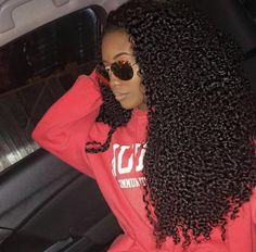 Shela hair Bundles With Lace Frontal Mongolian Kinky Curly Human Hair Weave With Frontal Cabelo 3c 4a, Coiffure Hair, Hair Updo, Curly Hair Styles, Natural Hair Styles, Brazilian Curly Hair, Pelo Afro, Curly Wigs, 3c Curly Hair