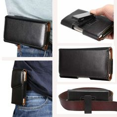 """Universal Many Models Belt Clip Holster Leather Mobile Phone Case Pouch cover For THL T6C 5"""" inch For Smartphone bags //Price: $8.70//     #electonics"""