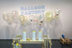 'balloon factory' by object design league at the museum of contemporary art chicago